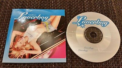 Mariah Carey - Loverboy - 2 Track EU PROMO Cardsleeve Single CD 2001
