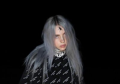 Billie Eilish Poster Print  - Choose Your Size A5-A4-A3-A2