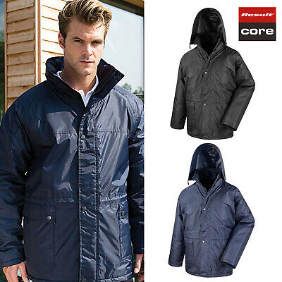 Result Core Manager's Jacket R229X - Men's Waterproof Outerwear Hooded Rain Coat