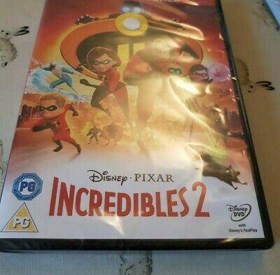 Incredibles 2 DVD - New and Sealed Fast and Free Delivery