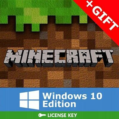 Minecraft Windows 10 Edition Key Gift Pc Cd Code Juegos de juegos globales...