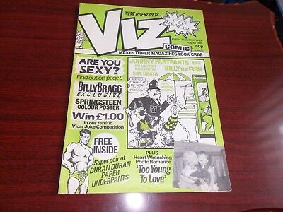 Viz comic  13    August 1985   Excellent condition   Adults only.