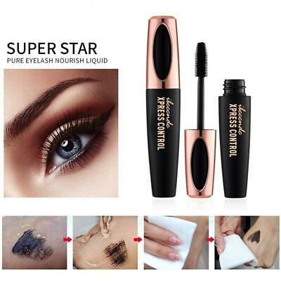 Black Eye Lashes Women Big Eyes Silk Fiber Eyelash 4D Mascara Make-up Extension