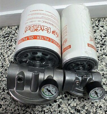 """Hydraulic Oil SpinOn SUCTION SIDE Filter Assembly 3/4"""" OR 1-1/4"""" BSP  300Lt/Min."""