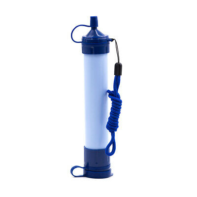 Portable Purifier Water Filter Straw for Camping Hiking Emergency Survival Gear