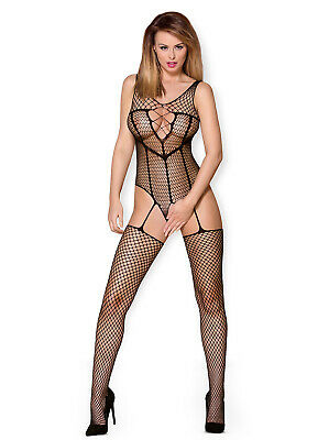 Catsuit Ouvert N119 - sexy Bodystocking von Obsessive