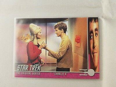 Star Trek TOS 40th Anniversary Ser 2,CHARLIEX REVISTED Insert #22  Odds 1 in 24