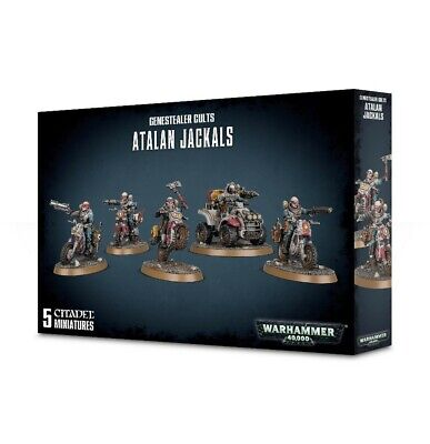 Genestealer Cults Atalan Jackals Games Workshop Brand New 99120117014