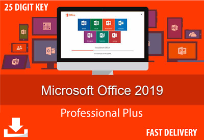 Microsoft Office 2019 Pro Plus - Genuine License Key