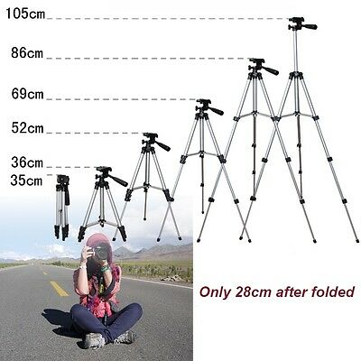Foldable Professional Tripod Stand Camcorder  for Canon Nikon Camera DSLR ONE IT