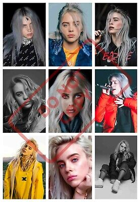 Billie Eilish Poster Print Collage Art - Various Sizes