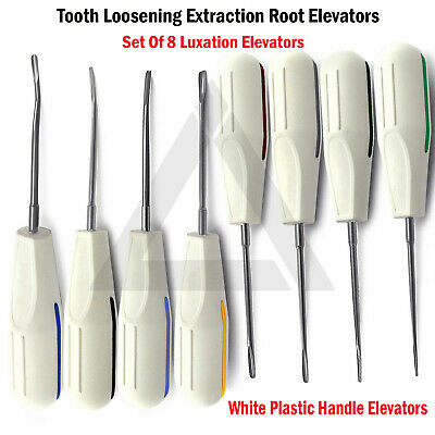 Dental Luxation Kit Surgical Luxating Root Extraction Elevators Veterinary CE