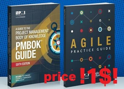 PMI PMBOK Guide 6th Edition 2018 + Agile Practice Guide -  (PDF Email Delivery)