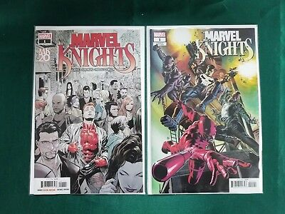MARVEL KNIGHTS 20TH #1A and DEODATO TEASER VARIANT NM 2018 Marvel 11/07/18