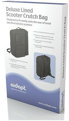 Aidapt Deluxe Mobility Scooter Bag stick Crutch holder VAT FREE. SEE DESCRIPTION