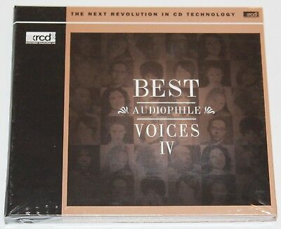 Best Audiophile Voices 4  XRCD2 NEU / PR 27960 XRCD  / Sieveking