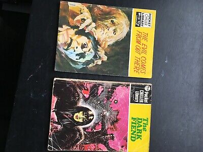 Pocket Chiller Library 42 The Dark Fiend And 132 The Evil Comes From Out There
