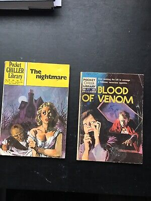 Pocket Chiller Library 13 The Nightmare And 90 Blood Of Venom