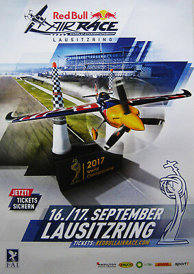 Neu Poster Plakat Red Bull Air Race World Championship 2017