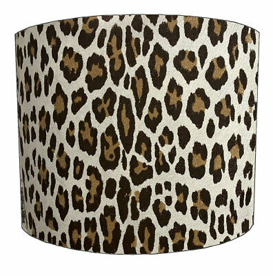 Ideal To Match Animal Print Wallpaper /& Duvet Covers. Animal Print Lampshades