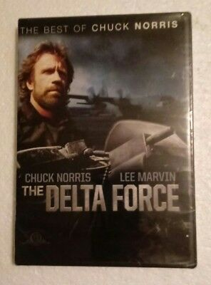 NEW ~ The Delta Force (DVD) ~ 1986 ~ Chuck Norris ~ Lee Marvin