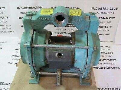 Itt Marlow Aod-Snnn 1'' Steel Diaphragm Pump Used