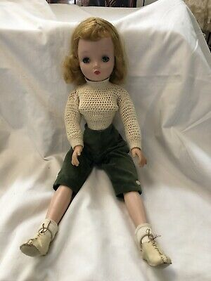 """Vintage 1950s Cissy  20"""" Madame Alexander Doll Very Good Comdition Extra Shoes"""