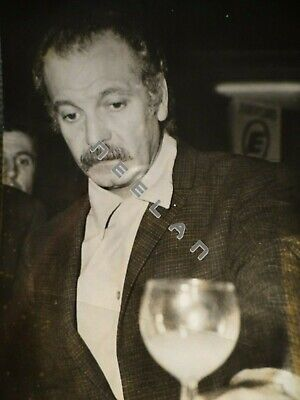 Ancienne Photo Originale De Georges Brassens