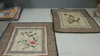 silk embroidery china with tag