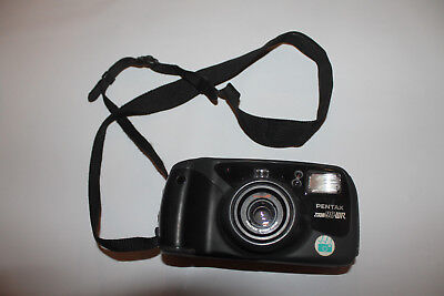 Pentax Zoom 90-WR Weather Resistant 35mm Compact Film Camera