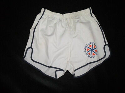 RARE 1970's VINTAGE Empire State Games Gym Athletic Short Shorts 1978 SYRACUSE L