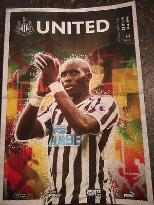 Newcastle United V Manchester City 18/19 Official Match Programme