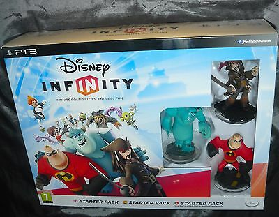 Brand New Disney Infinity Collection Bundle PS3 Starter Pack, 16 Figures + Extra
