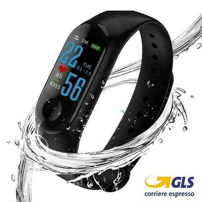 🏋🏻♂️ Fit Sport Smarband Fitness iOS Android Smartwatch Orologio Notifiche M3