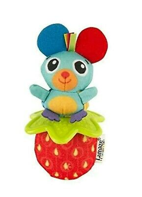 Lamaze Mouse Little Grip Rattle With Teething Ring - From Birth +
