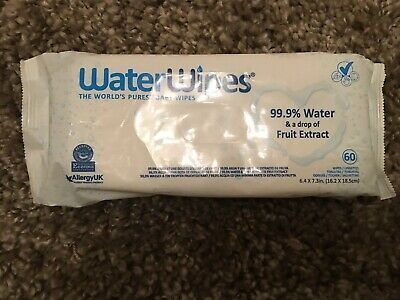 Water Wipes - Purest Baby Wipe (60 pack)