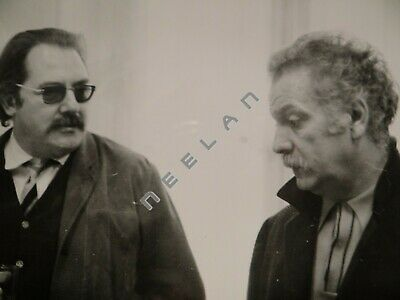 Ancienne Photo Originale De Georges Brassens 1970