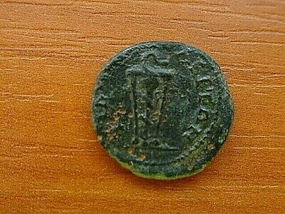 "Provincial Roman Coin of Commodus 179-192 AD ""Tripod"" of Philippopolis, Thrace."