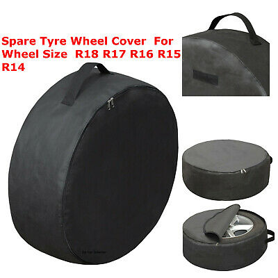 XXXL Wheel Storage Bag Spare Tyre Cover Wheel Size Car Van R18 R17 R16 R15 14