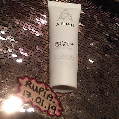 Brand New Alpha-H Triple Action Cleanser With Thyme - RRP £12.00