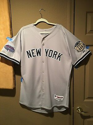 huge selection of a43af 0b97c NEW YORK YANKEES Alex Rodriguez Authentic Majestic Road Game MLB JERSEY