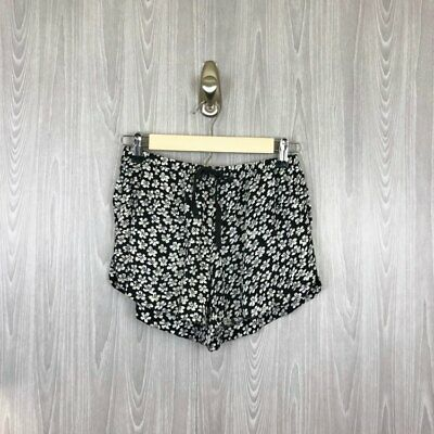 a685be476b2 Brandy Melville Women One Size   Fits S Flowy Floral Drawstring Waist Shorts