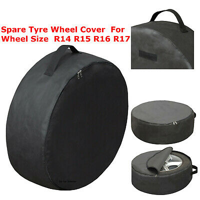 XXL Spare Tyre Wheel Cover Storage Bag For Wheel Size R14 R15 R16 R17 Car Van