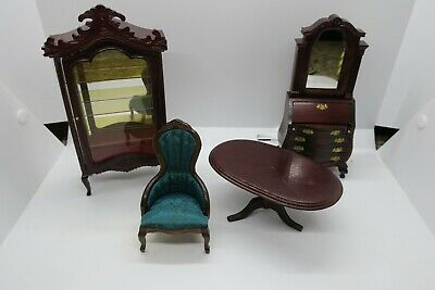 Vintage Concord Dollhouse Miniatures Miscellaneous Lot of Very Nice Pieces - NOS