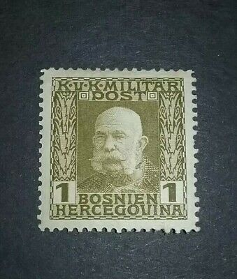 Bosnia And Herzegovina Issue Of 1910- 1918 MHR