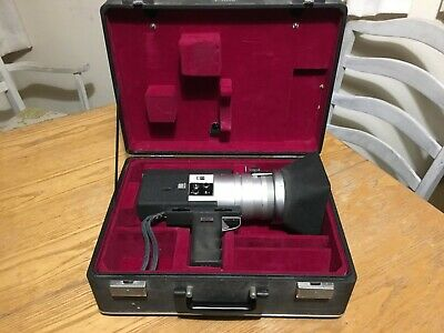 RARE Canon Auto Super Zoom 1218 Vintage Video Camera Inc Carry Case