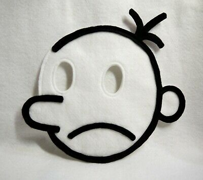 Diary of a wimpy kid costume mask world book day kids adults child children's