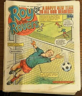 19 - 1986 Roy of the Rovers comics - Good condition