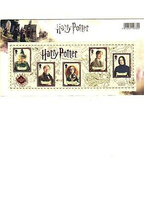 2018 Harry Potter Presentation Pack - Royal Mail postage stamps - 15 @ 1st class