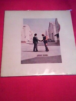 Pink Floyd ‎– Wish You Were Here 33 Tours vinyle  Harvest ‎– 2C 068 - 96918 Fra